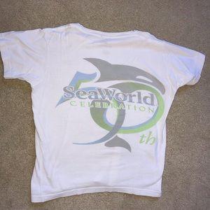 Tops - Seaworld T-shirt: 50th anniversary